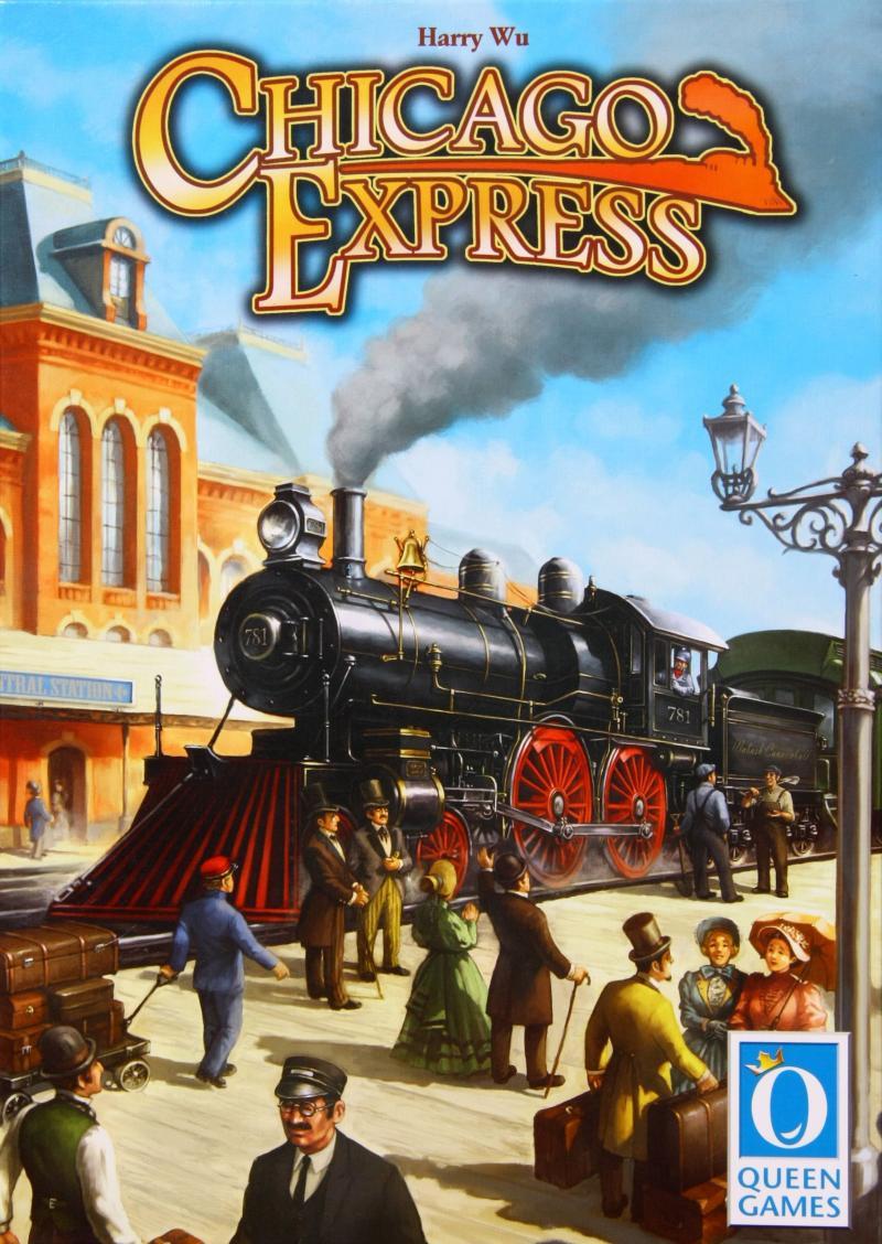 настольная игра Chicago Express Чикаго Экспресс