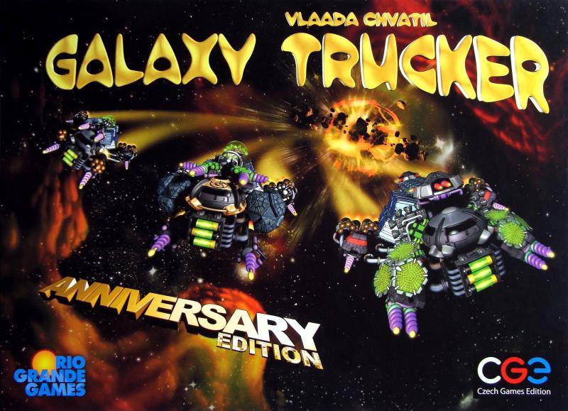 настольная игра Galaxy Trucker: Anniversary Edition Galaxy Trucker: юбилейное издание