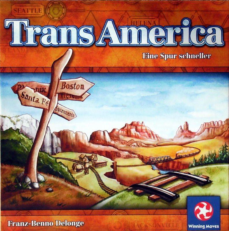 настольная игра TransAmerica
