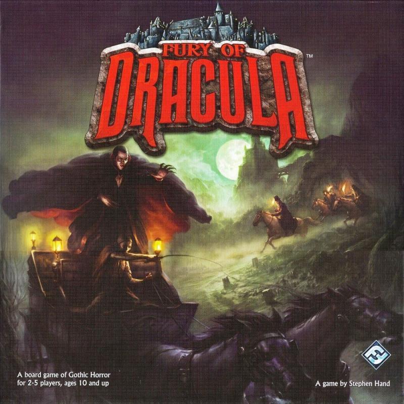 настольная игра Fury of Dracula (Second Edition) Ярость Дракулы (второе издание)