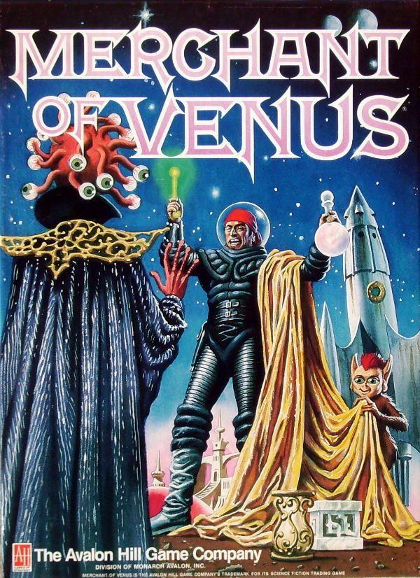 настольная игра Merchant of Venus Торговец Венеры