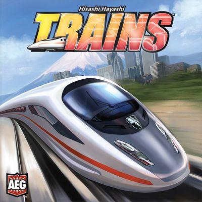 настольная игра Trains Поезда