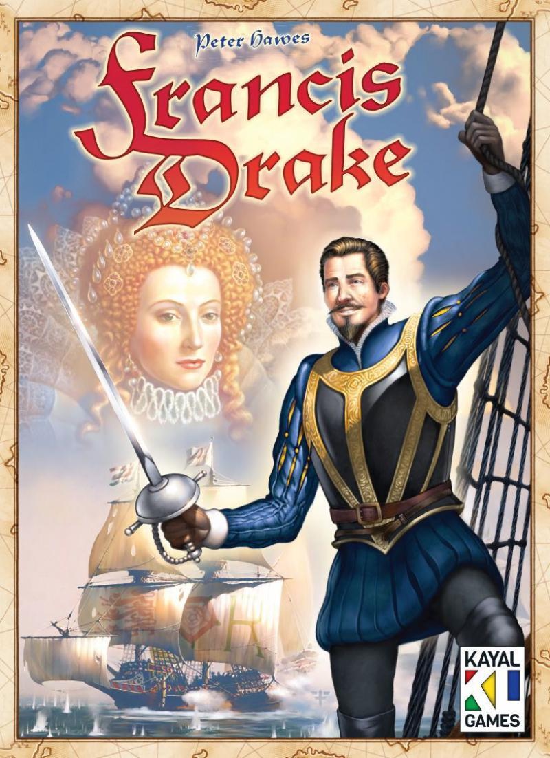 настольная игра Francis Drake Фрэнсис Дрейк