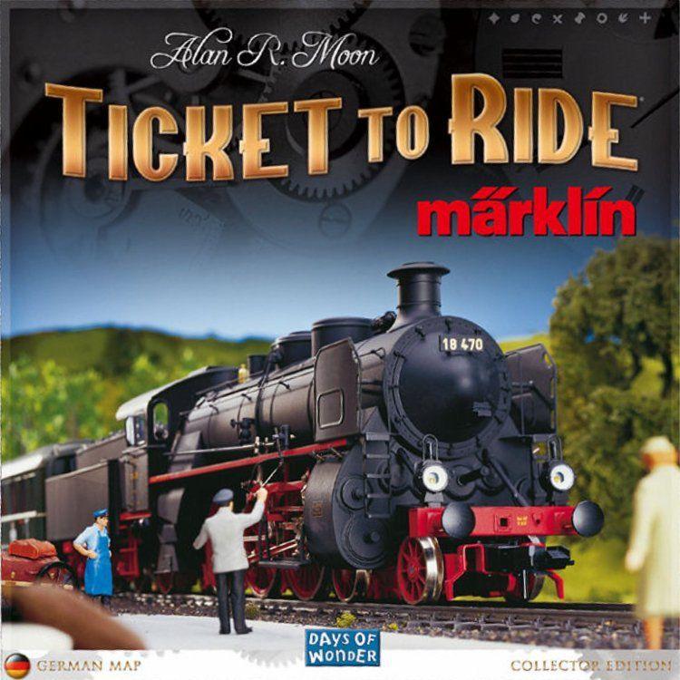 настольная игра Ticket to Ride: Märklin Билет на поездку: Мерклин