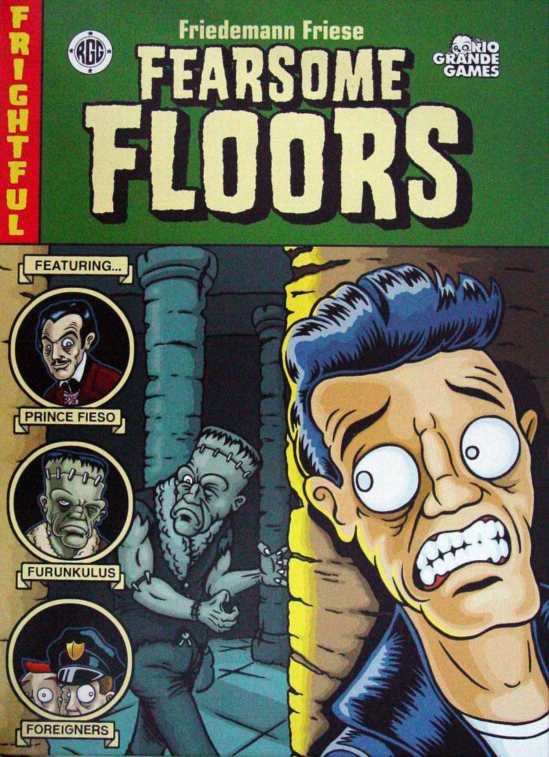 настольная игра Fearsome Floors Страшные этажи