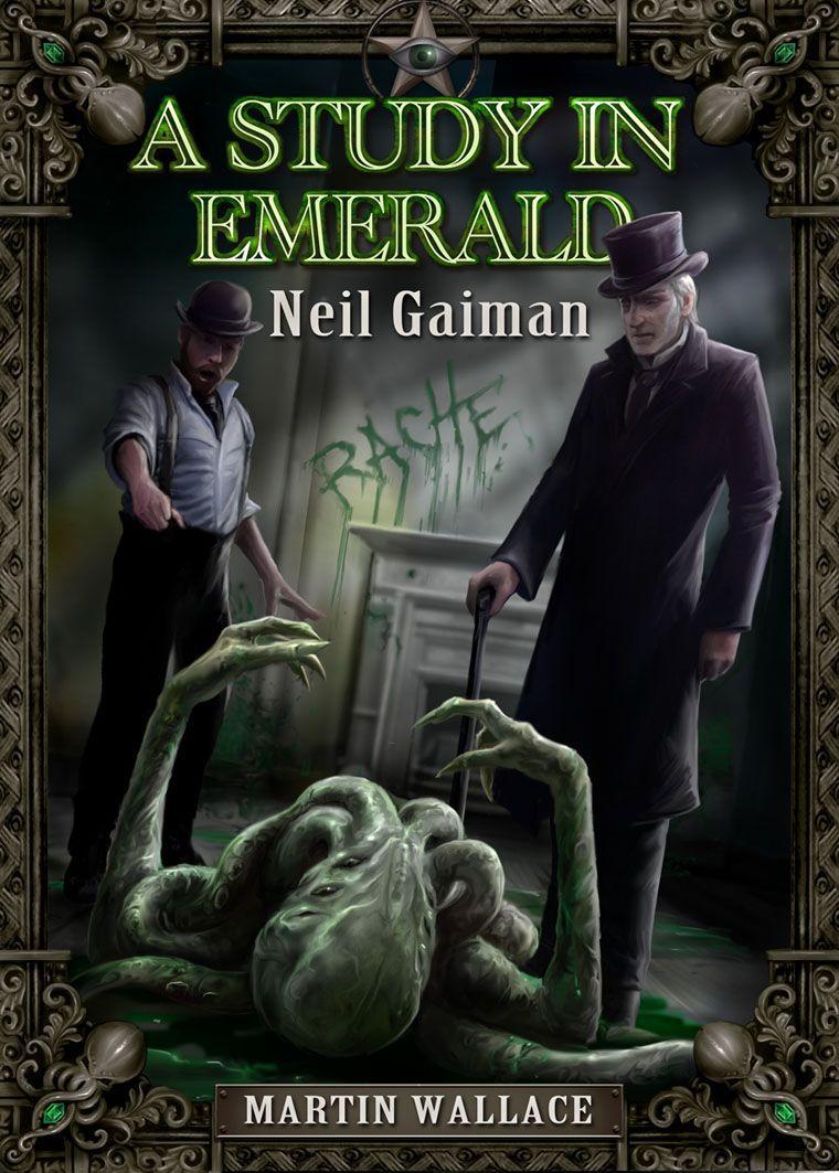 настольная игра A Study in Emerald Этюд в Изумруде