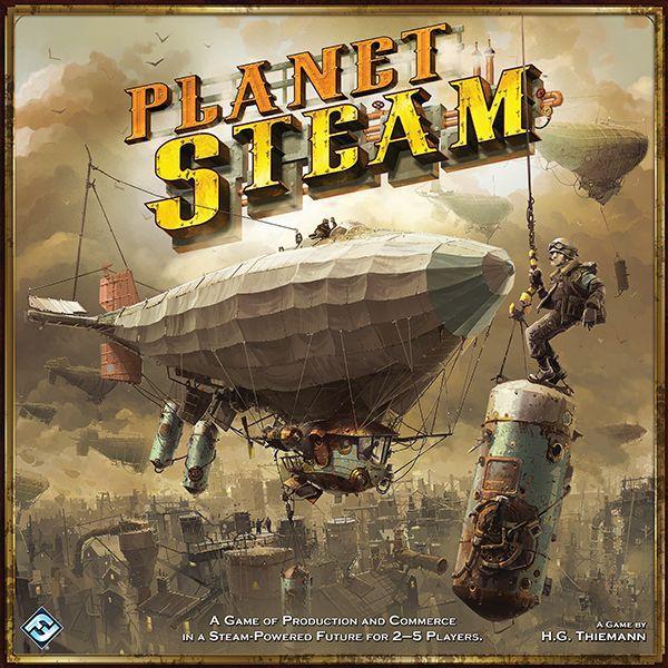 настольная игра Planet Steam Планета Steam