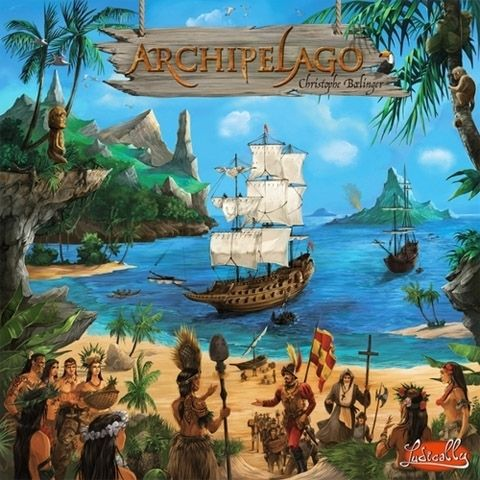 настольная игра Archipelago Архипелаг