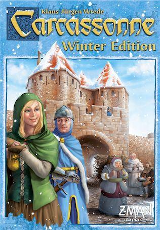 настольная игра Carcassonne: Winter Edition Каркассон: зимнее издание