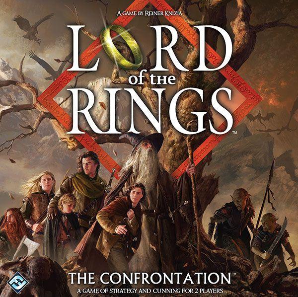 настольная игра Lord of the Rings: The Confrontation Властелин колец: противостояние