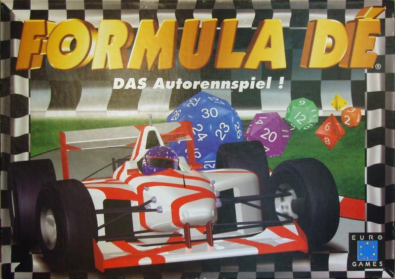 настольная игра Formula Dé Формула Де