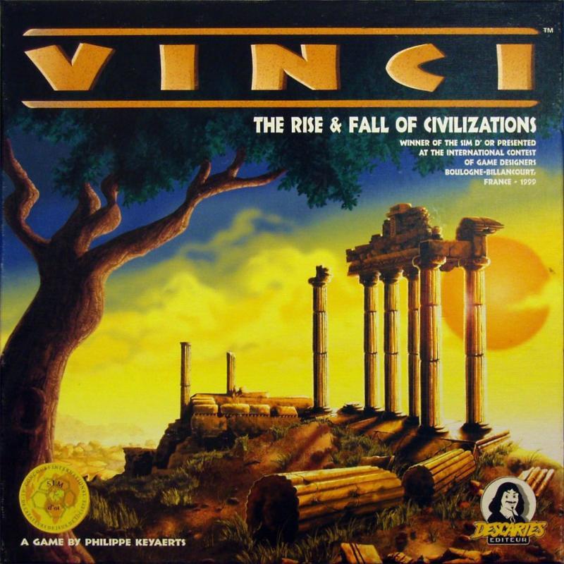 настольная игра Vinci