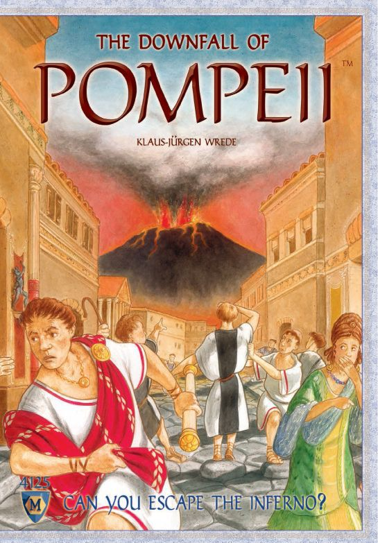 настольная игра The Downfall of Pompeii Крушение Помпеи