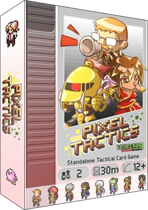 настольная игра Pixel Tactics Пиксельная Тактика