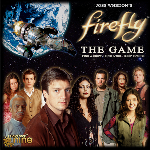 настольная игра Firefly: The Game Светлячок: игра