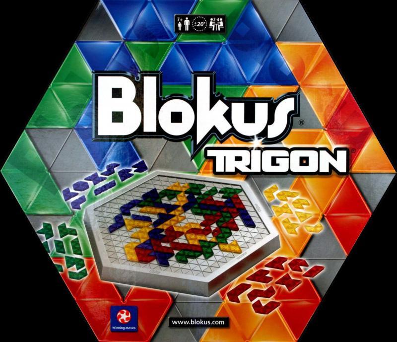 настольная игра Blokus Trigon Блок Тригон
