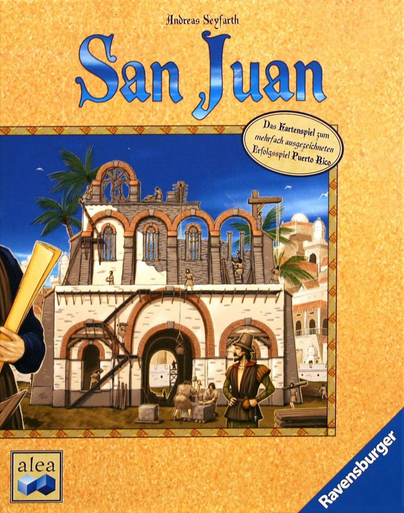 настольная игра San Juan Сан Хуан