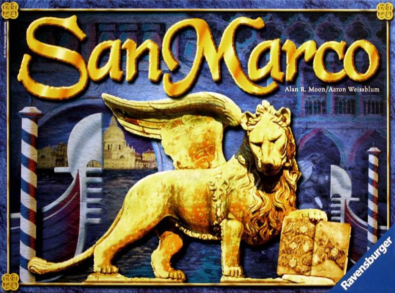 настольная игра San Marco Сан Марко