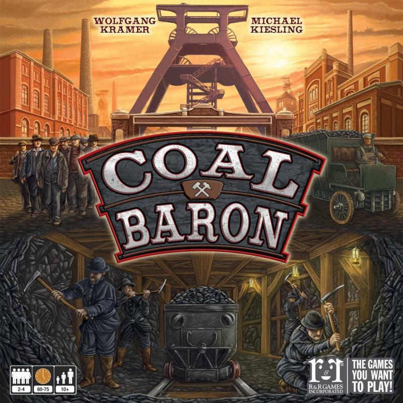 настольная игра Coal Baron Угольный Барон
