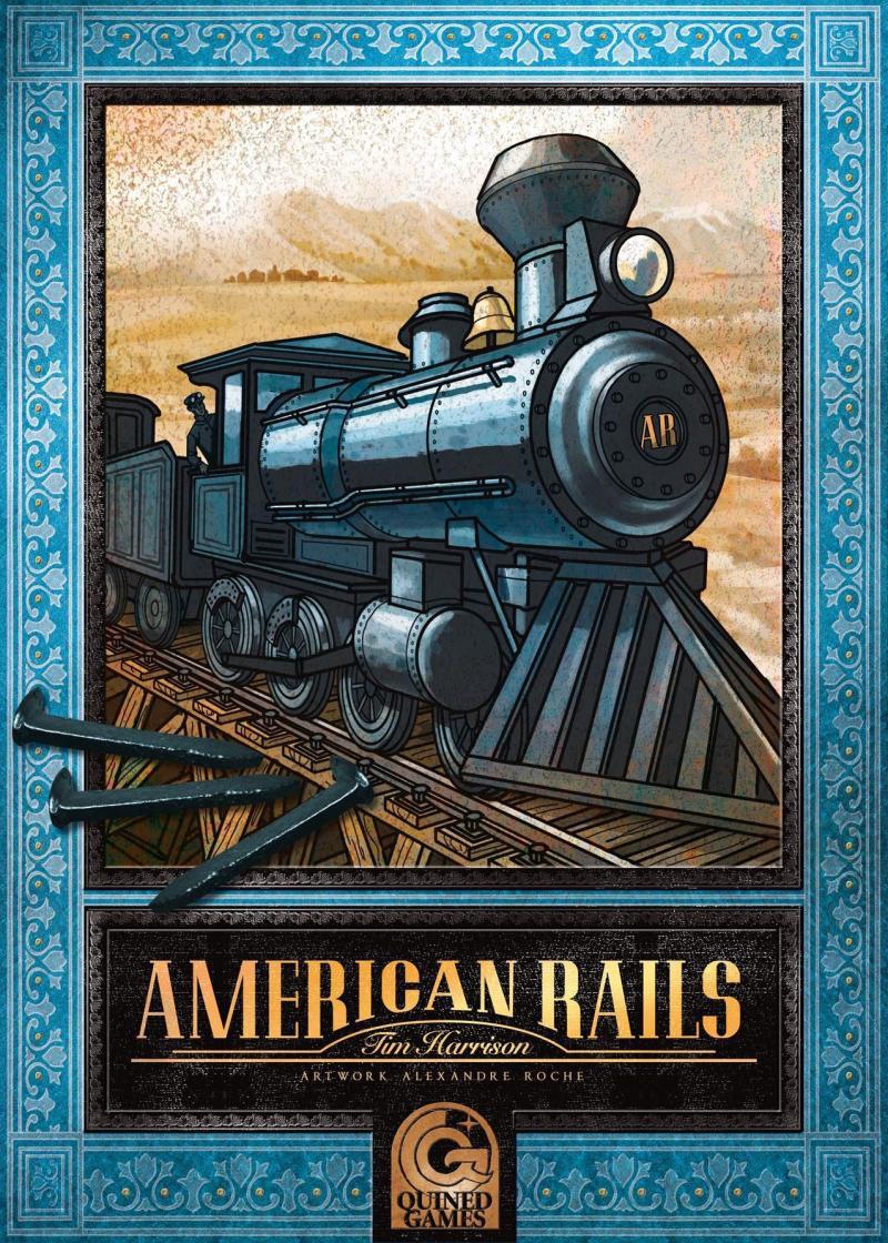 настольная игра American Rails Американские Рельсы