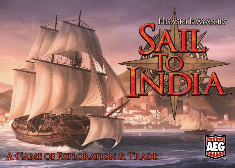 настольная игра Sail to India Парус в Индию