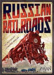 настольная игра Russian Railroads Российские железные дороги