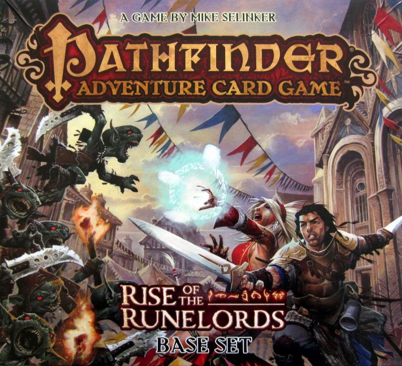 настольная игра Pathfinder Adventure Card Game: Rise of the Runelords – Base Set Приключенческая карточная игра Pathfinder: Rise of the Runelords - базовый набор