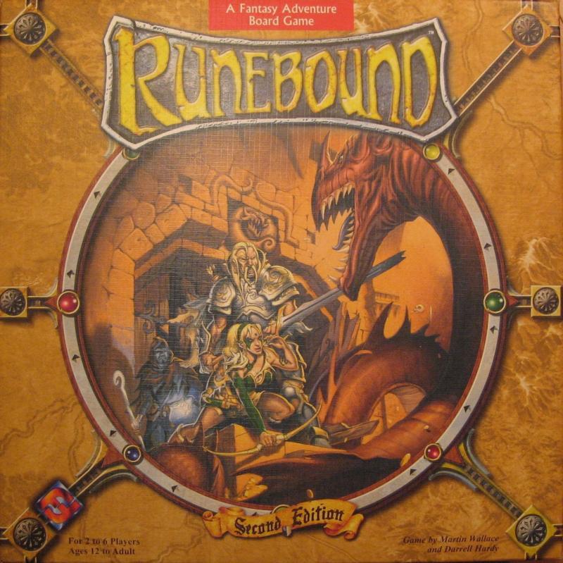настольная игра Runebound (Second Edition) Runebound (второе издание)