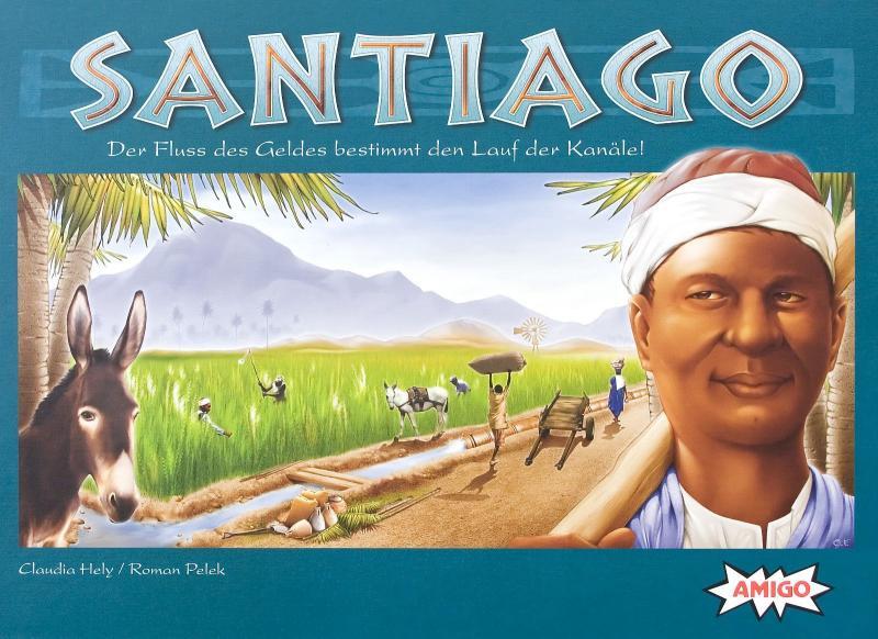 настольная игра Santiago Сантьяго