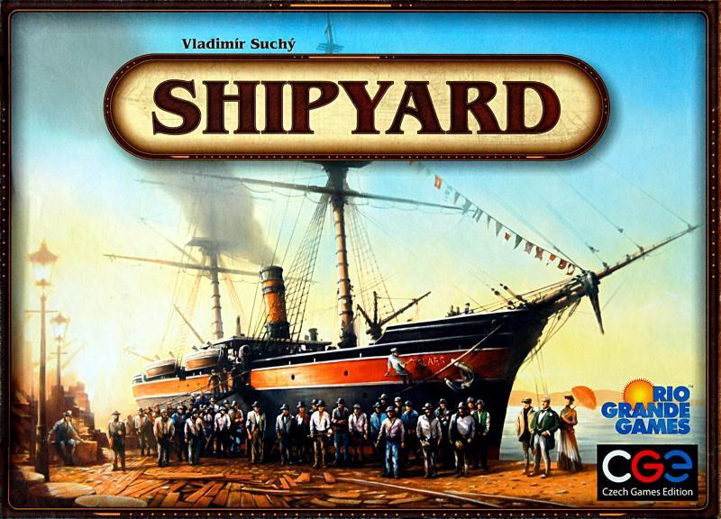 настольная игра Shipyard Верфь