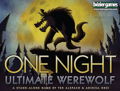 настольная игра One Night Ultimate Werewolf Одна Ночь Окончательный Оборотень