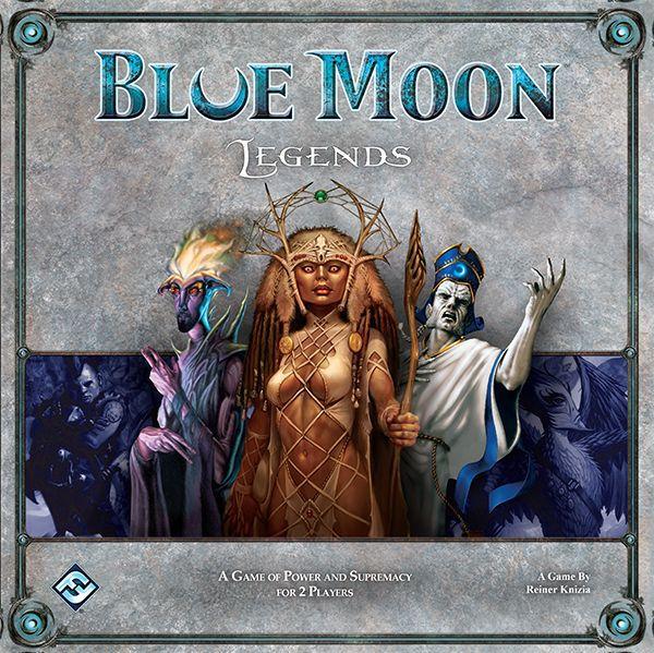 настольная игра Blue Moon Legends Легенды Голубой Луны