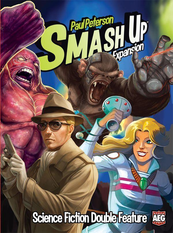 настольная игра Smash Up: Science Fiction Double Feature Smash Up: научная фантастика с двойной функцией
