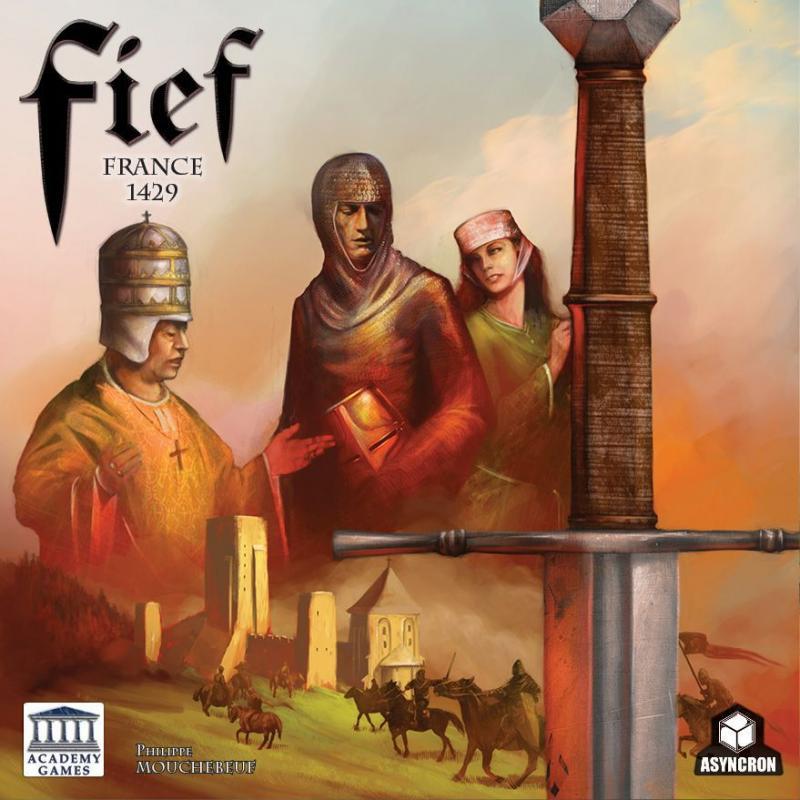 настольная игра Fief: France 1429 Феод: Франция 1429