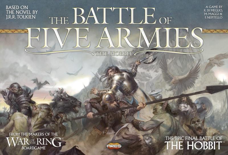 настольная игра The Battle of Five Armies Битва пяти армий