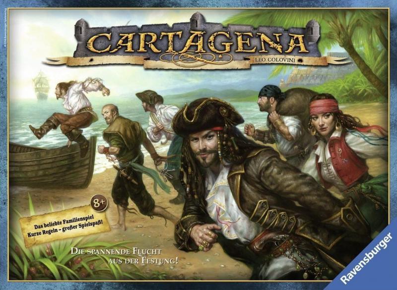 настольная игра Cartagena Картахена