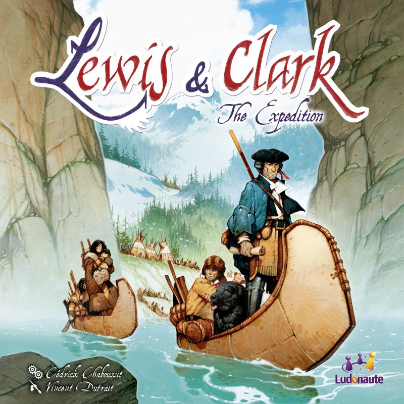 настольная игра Lewis & Clark Льюис и Кларк