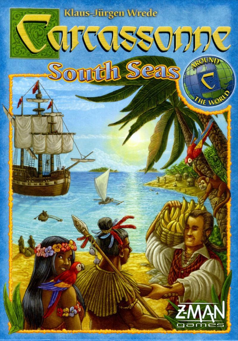 настольная игра Carcassonne: South Seas Каркассон: Южные моря