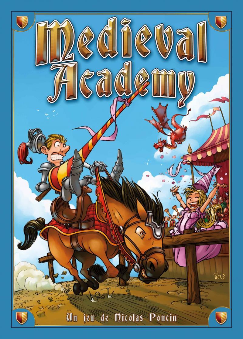 настольная игра Medieval Academy Средневековая Академия