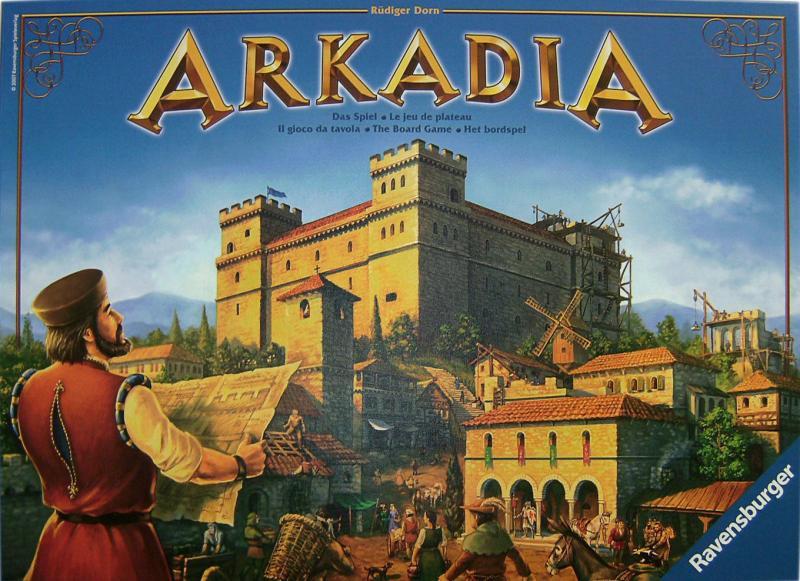 настольная игра Arkadia
