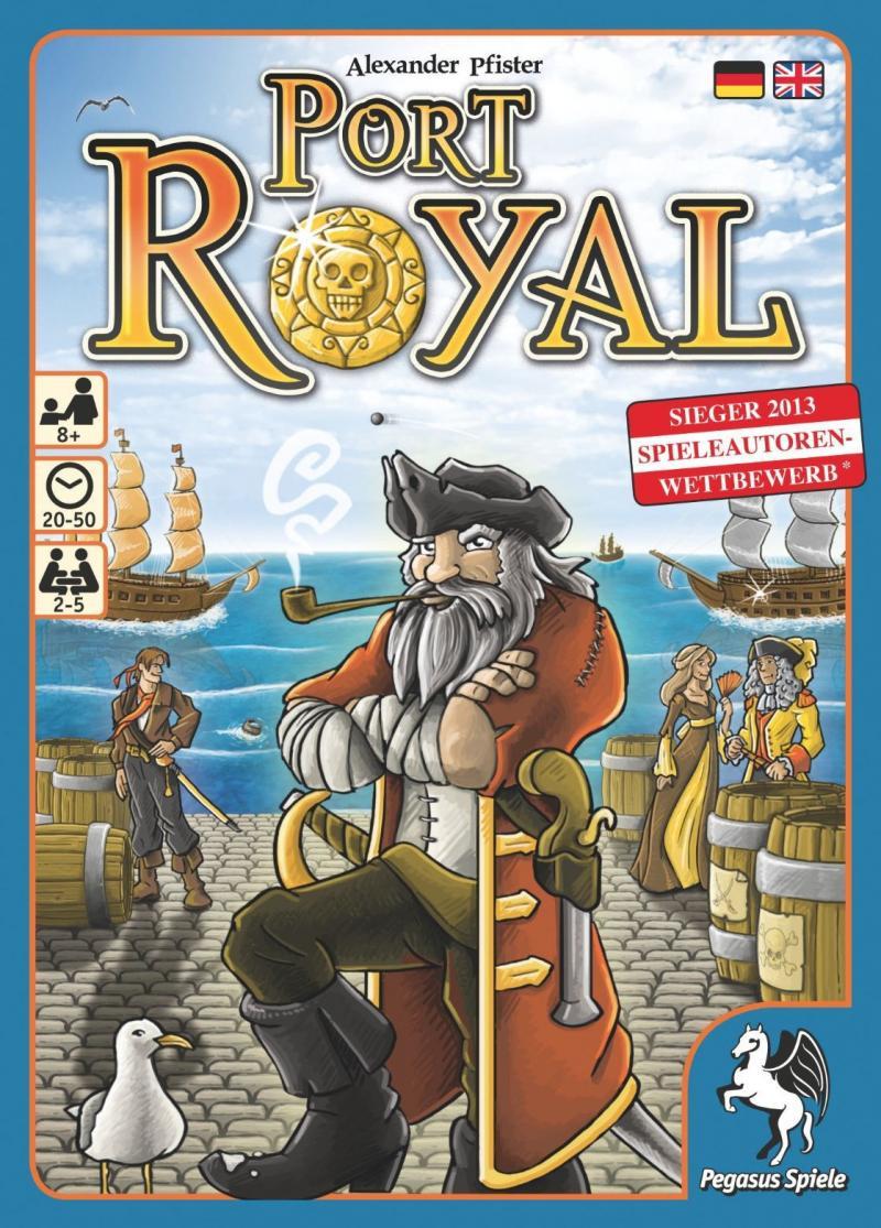 настольная игра Port Royal Порт Роял
