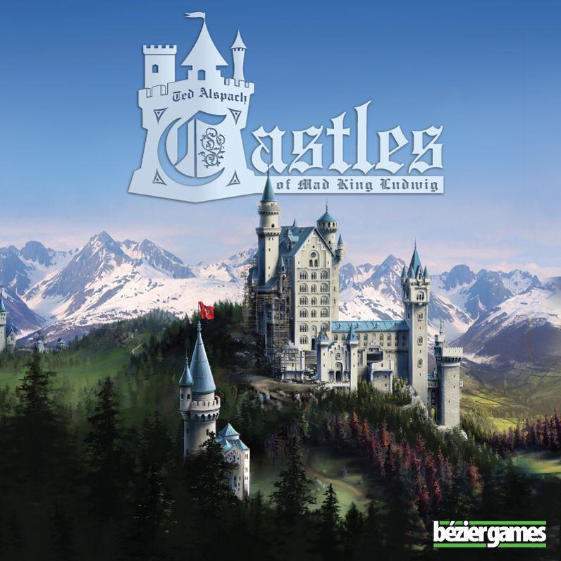 настольная игра Castles of Mad King Ludwig Замки Безумного Короля Людвига