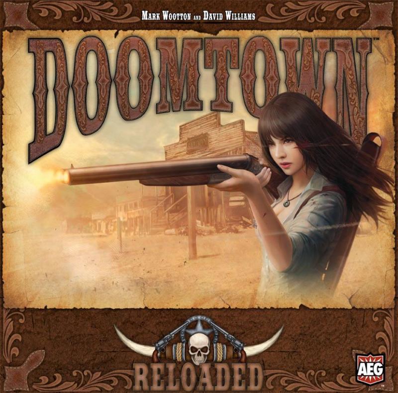 настольная игра Doomtown: Reloaded Doomtown: Перезагрузка