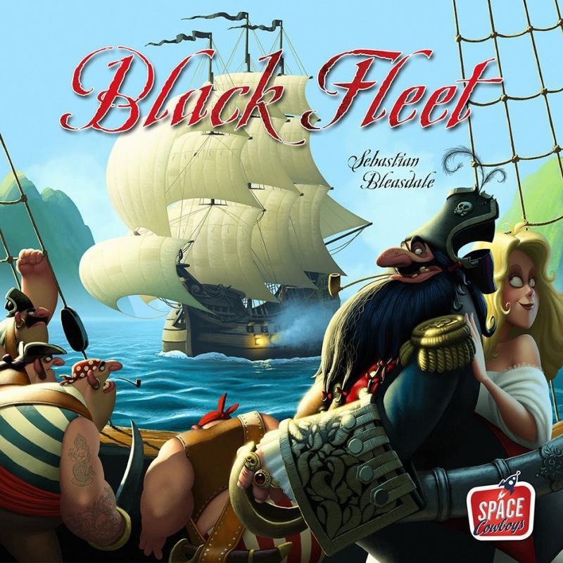 настольная игра Black Fleet Черный флот