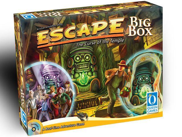 настольная игра Escape: The Curse of the Temple – Big Box Побег: проклятие храма - большая коробка