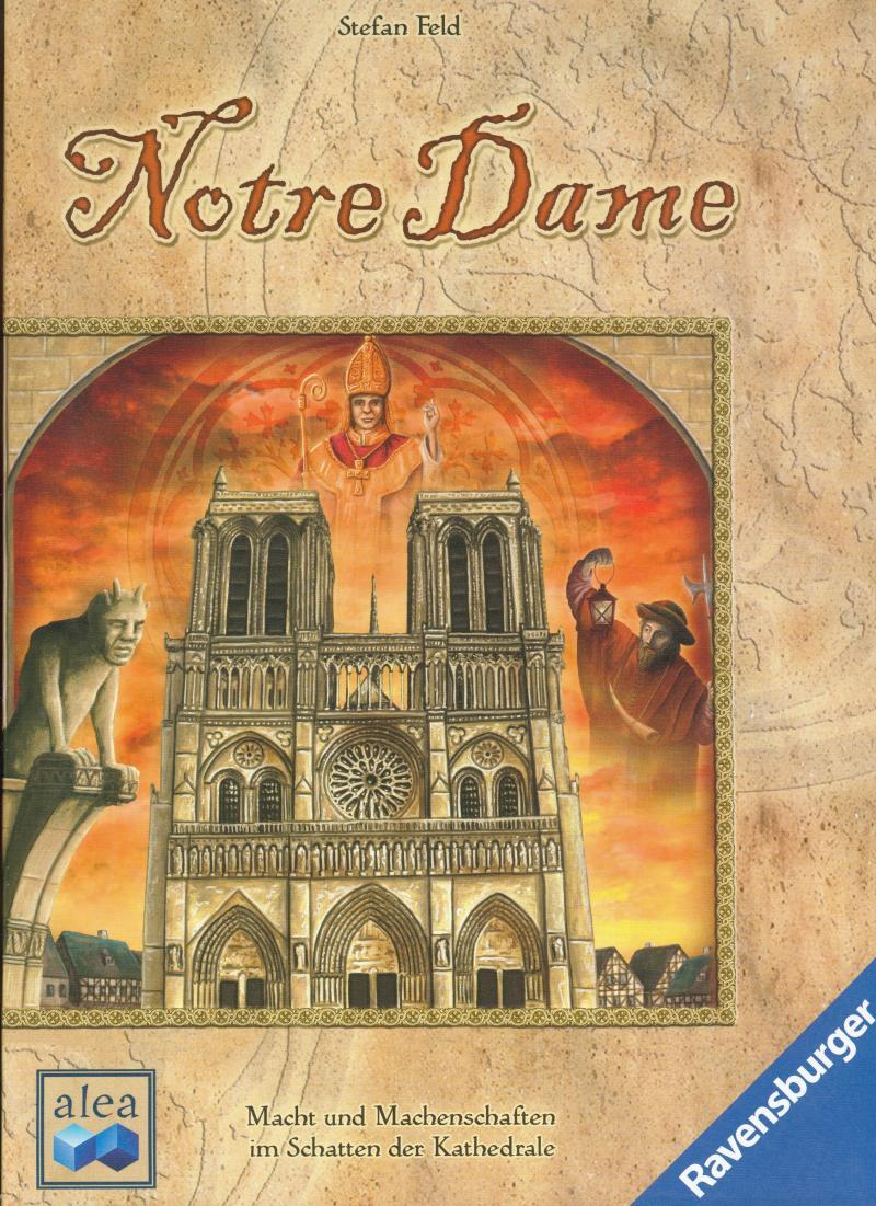 настольная игра Notre Dame Нотр-Дам