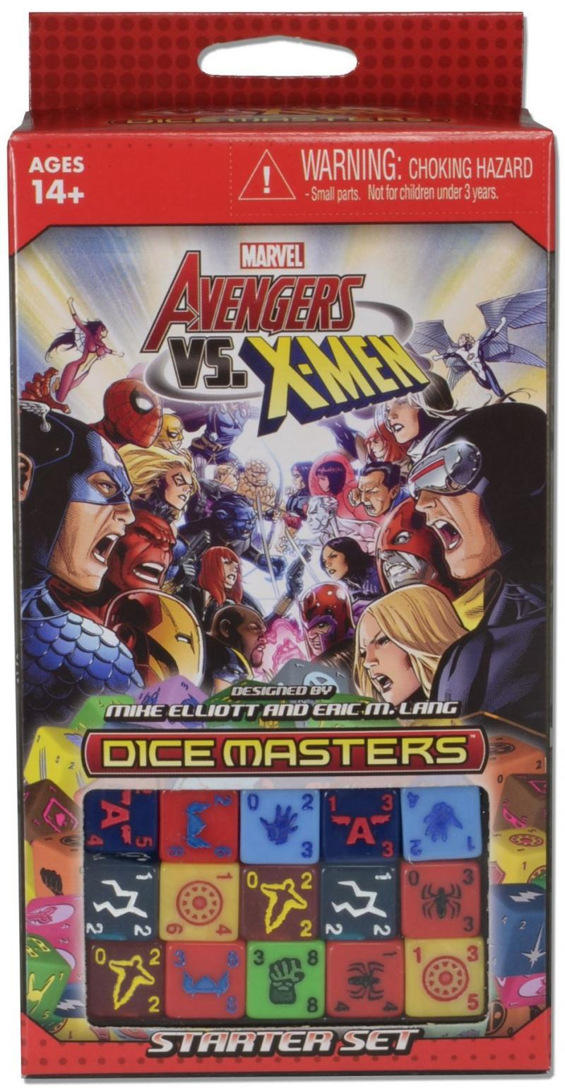 настольная игра Marvel Dice Masters: Avengers vs. X-Men Marvel Dice Masters: Мстители против Людей Икс