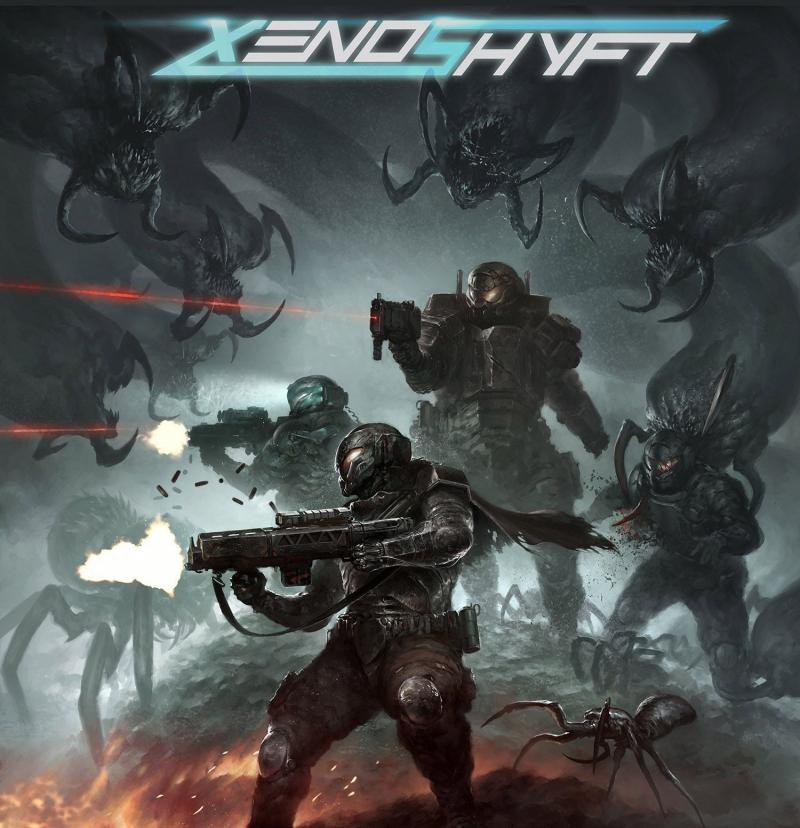 настольная игра XenoShyft: Onslaught XenoShyft: Натиск
