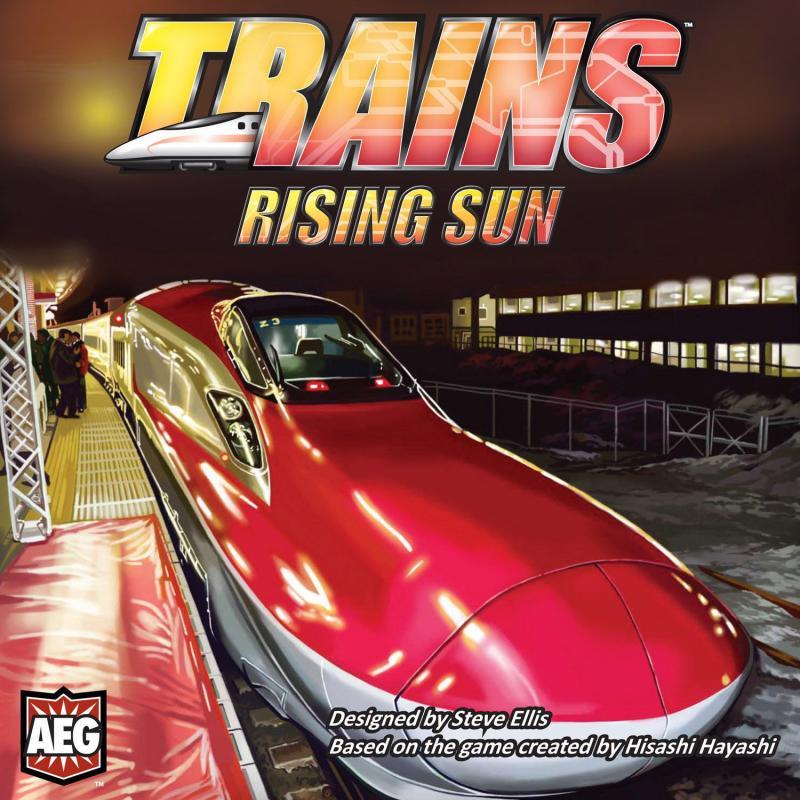 настольная игра Trains: Rising Sun Поезда: восходящее солнце