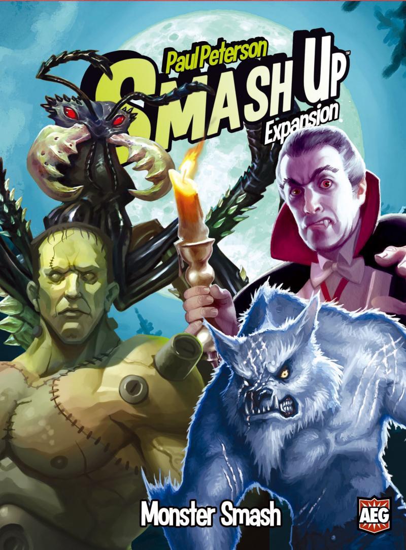 настольная игра Smash Up: Monster Smash Разбить вверх: монстр разбить